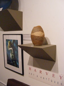 Harvey Pranian has three of my pieces in his Trilogy gallery space in Three Oaks, Michigan.